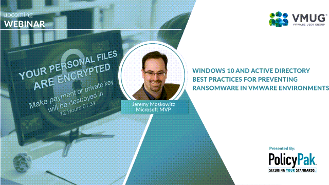 WINDOWS10 AND ACTIVE DIRECTORY SECURITY BEST PRACTICES FOR PREVENTING RANSOMWARE