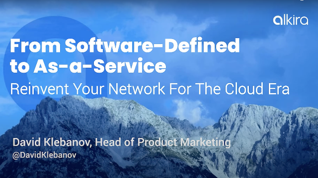 From Software-Defined to As-a-Service: Reinvent Your Network for the Cloud Era