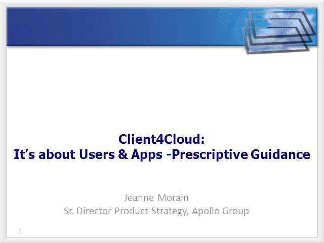 Client4Cloud: Using APM to Successfully Implement Virtualization Strategies