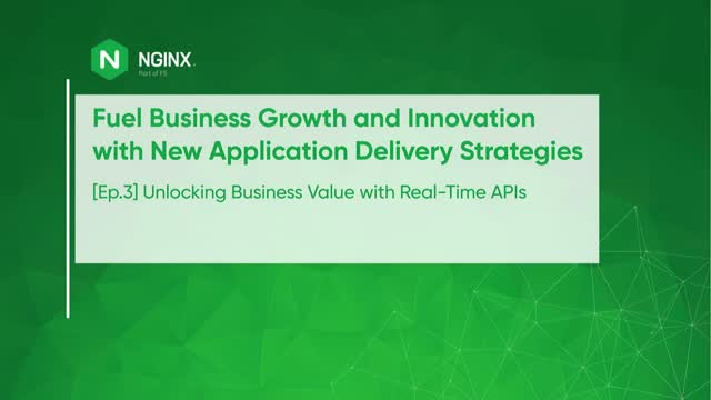 [Ep.3] How To Unlock Business Value With Real-Time APIs