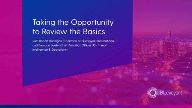 Taking the opportunity to review the basics of Supply Chain Cyber Risk