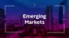 Investing for sustainability outcomes in emerging markets