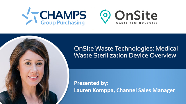 OnSite Waste Technologies - Medical Waste Sterilization Device Overview