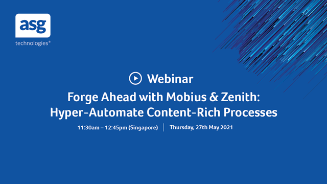 Forge Ahead with Mobius & Zenith: Hyper-Automate Content-Rich Processes
