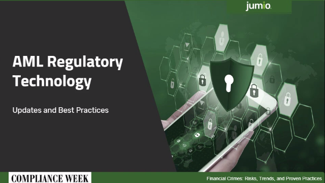 Compliance Week Panel: AML Regulatory Technology Updates and Best Practices