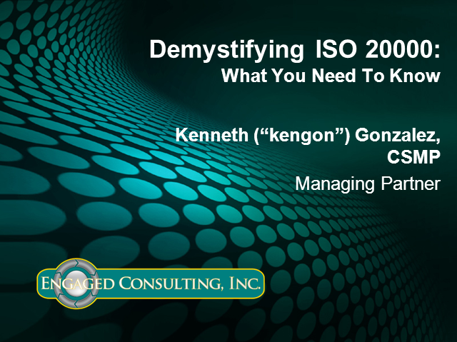 Demystifying ISO 20000: What You Need To Know