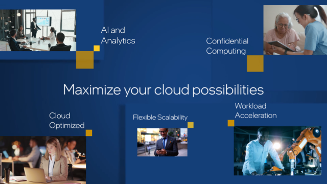 Cloud performance made flexible: Maximize your cloud possibilities