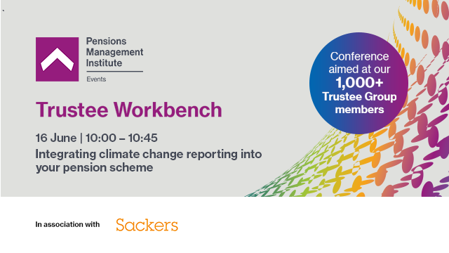 Integrating climate change reporting into your pension scheme