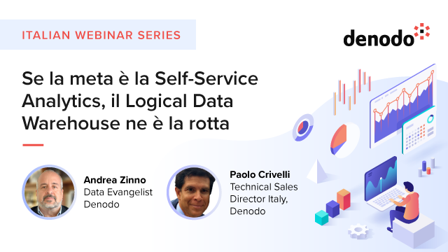 Se la meta è la Self-Service Analytics, il Logical Data Warehouse ne è la rotta