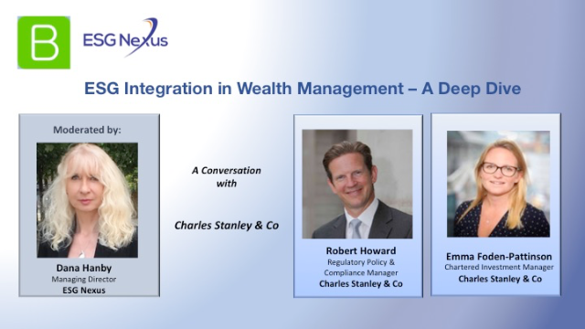 ESG Integration in Wealth Management - A Deep Dive