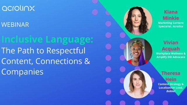 Inclusive Language: The Path to Respectful Content, Connections & Companies