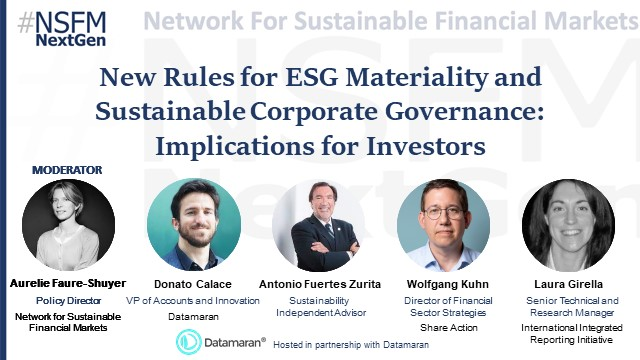 New Rules for ESG Materiality and Sustainable Corporate Governance