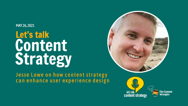 Let's Talk Content Strategy with Jesse Lowe