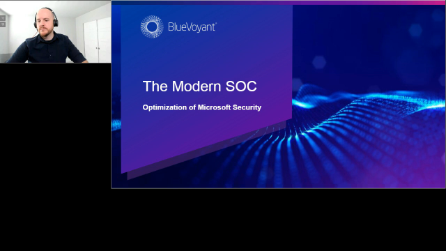 Modern SOC & the optimization of Microsoft Security