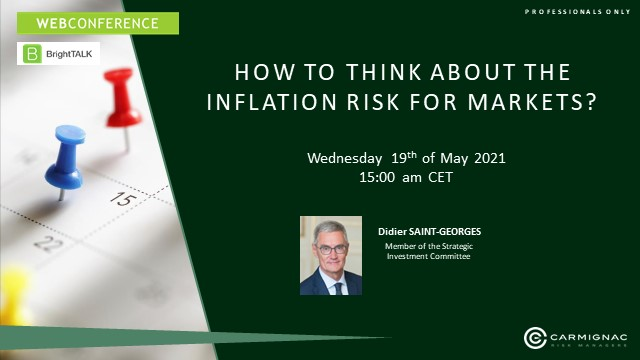 How to think about the inflation risk for markets?
