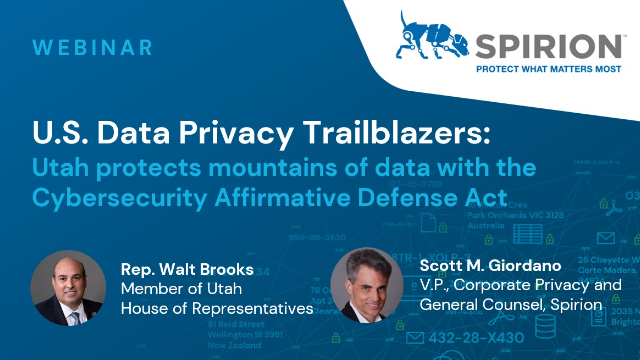 Utah protects mountains of data with the Cybersecurity Affirmative Defense Act