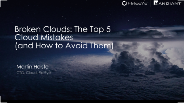 Broken Clouds: The Top 5 Cloud Mistakes (and How to Avoid Them)