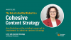 The Role of a Healthy Mindset in Implementing a Cohesive Content Strategy