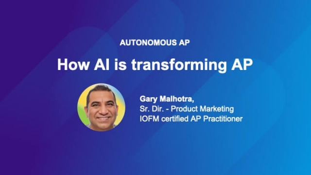 How AI is transforming Accounts Payable