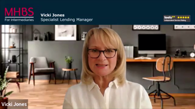 Welcome by Vicki Jones, Specialist Lending Manager, MHBS For Intermediaries