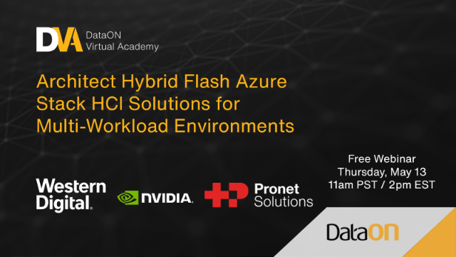 Architect Hybrid Flash Azure Stack HCI Solutions for Multi-Workload Environments
