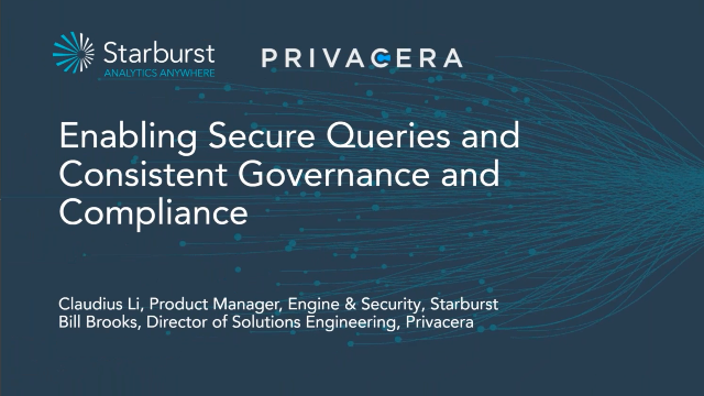 Enabling Secure Queries and Consistent Governance and Compliance