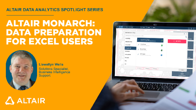 Altair Monarch: Data Preparation for Excel Users
