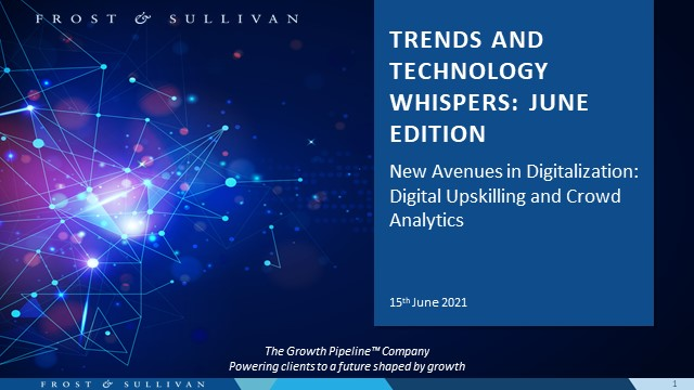 New Opportunities in Digital Upskilling and Crowd Analytics
