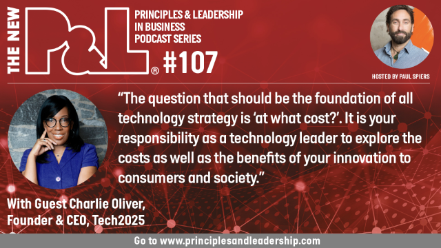The New P&L speaks to Charlie Oliver, CEO & Founder, Tech2025