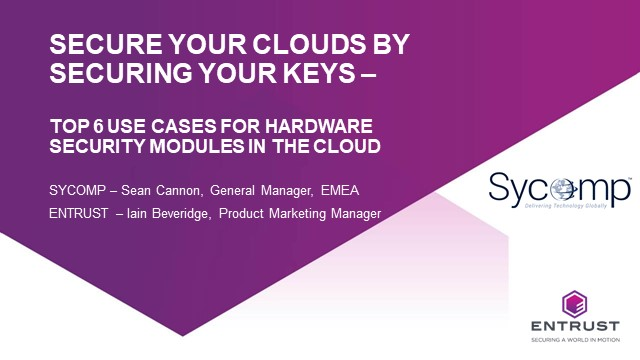Secure your clouds by securing your keys
