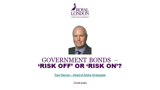 Government bonds – 'Risk off' or 'risk on'?