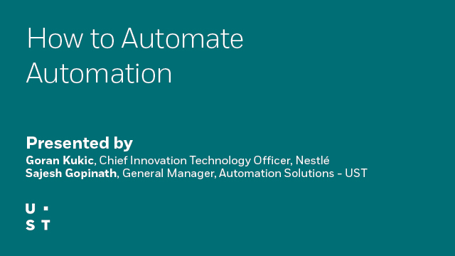 How to Automate Automation