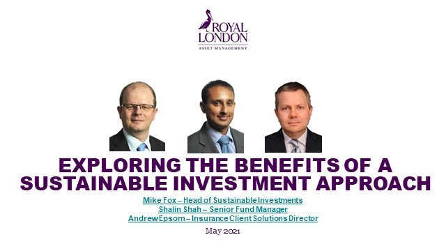 Exploring the benefits of a sustainable investment approach