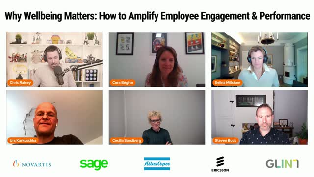 Why Well Being Matters -- How to Amplify Employee Engagement & Experience