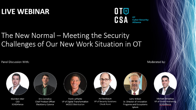 The New Normal - Meeting The Security Challenges Of Our New Work Situation In OT