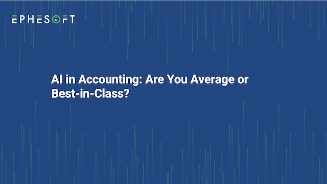 AI in Accounting: Are You Average or Best-in-Class?