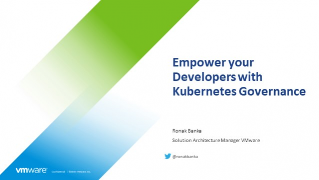 Empower your Developers with Kubernetes Governance