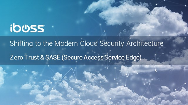 Shifting to the Modern Cloud Security Architecture