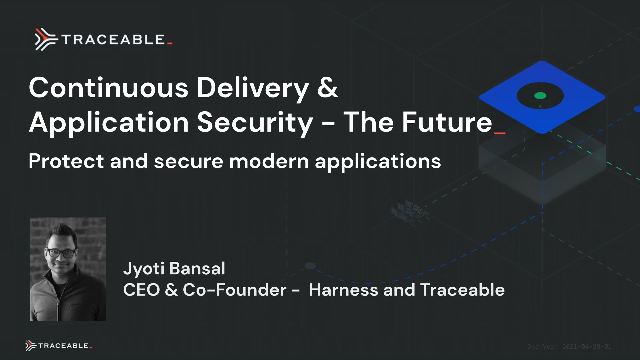 Continuous Delivery and Application Security - The Future