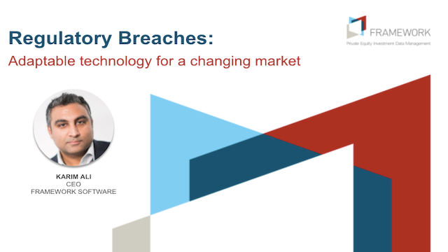 Regulatory Breaches: Adaptable technology for a changing market?