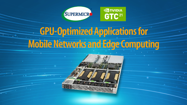 GPU-Optimized Applications for Mobile Networks and Edge Computing