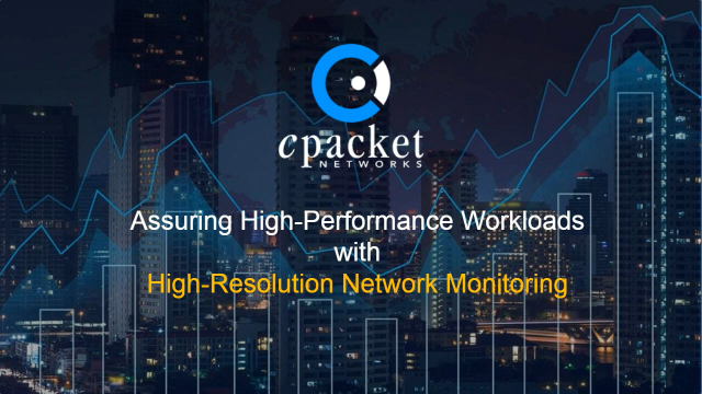 Tips to Assure High-Performance Workloads