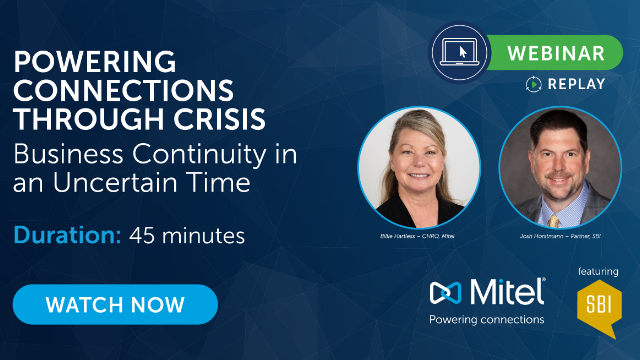 Powering Connections Through Crisis - Business Continuity in an Uncertain Time