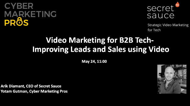 Video Marketing for B2B Tech- Improving Leads and Sales using Video
