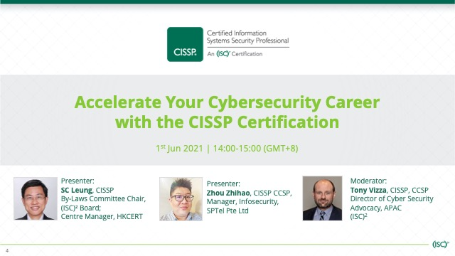 Accelerate Your Cybersecurity Career with the CISSP Certification