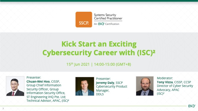 Kick Start an Exciting Cybersecurity Career with (ISC)²