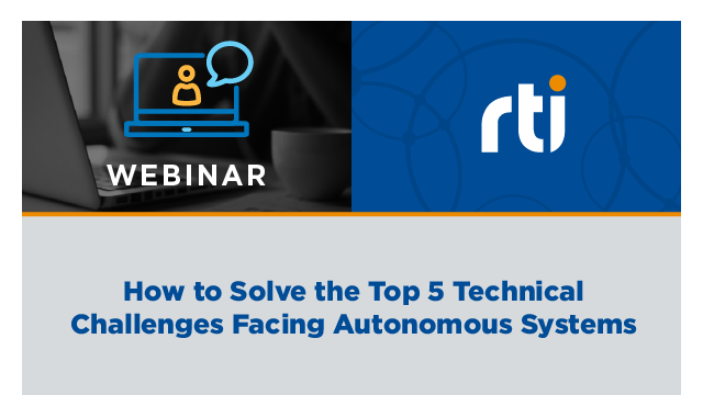 How to Solve the Top 5 Technical Challenges Facing Autonomous Systems