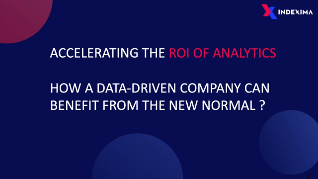 ACCELERATE THE ROI OF ANALYTICS