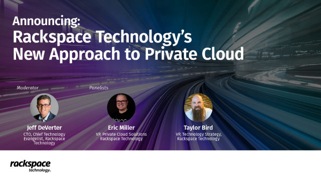 Announcing a New Approach to Private Cloud
