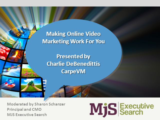 Making Online Video Marketing Work for You